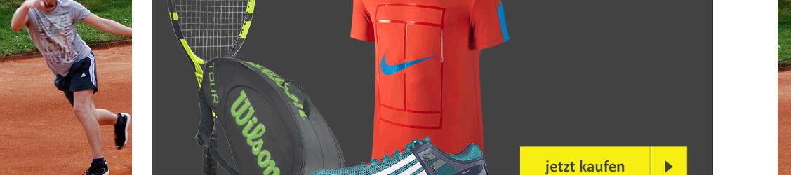 Auch Tennis shoppt jetzt für den Verein