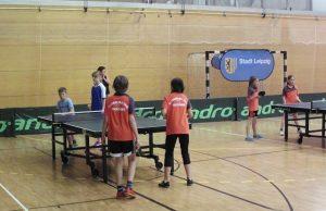 Tischtennis Lipsiade 2017