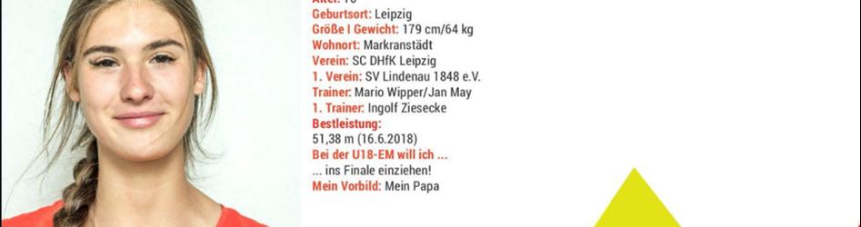 Internationale Meisterschaften mit ehemaligen Lindenauer Leichtathleten