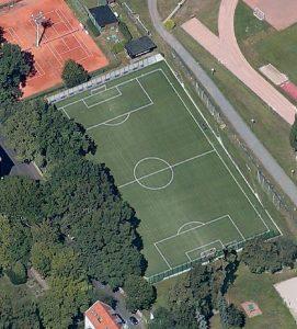 geplanter Kunstrasenplatz beim SV Lindenau1848